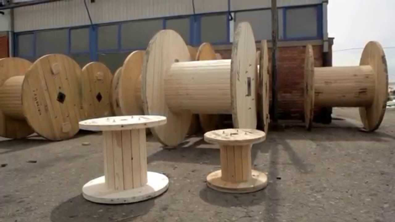 Wooden Cable Drums Complete Line Youtube