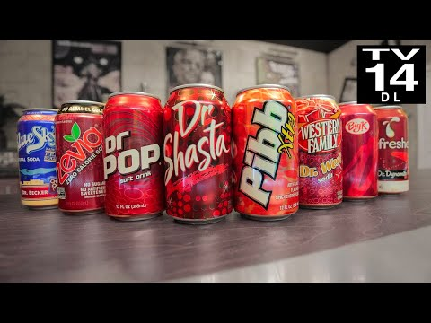 Ultimate Dr. Pepper Knockoff Taste Test