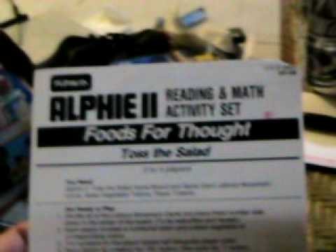 Alphie II wants me to do WHAT?!