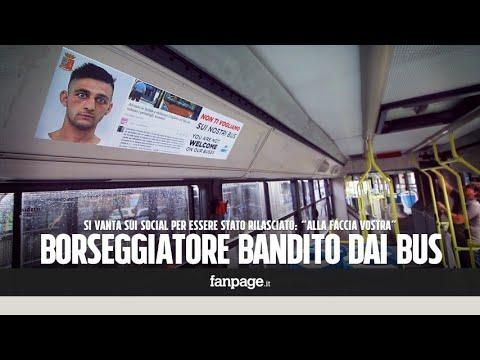"""Palermo, borseggiatore sui bus fa lo spaccone su Facebook, l'azienda di trasporti lo """"bandisce"""""""