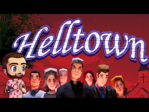 HELLTOWN - AMAZING PS1 Style Horror Game, Full Playthrough + Alternate Ending and Secrets