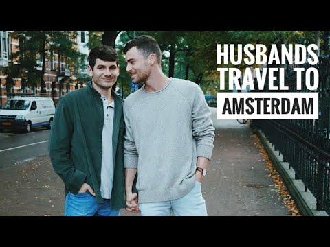 Amsterdam Vlog | Gay Couple | PJ & Thomas
