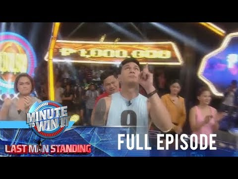 Minute To Win It - Last Man Standing - Full Episode | January 9, 2019