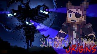EVIL WITHER FIGHT! - Minecraft Supernatural Origins #15 (Werewolf Modded Roleplay)