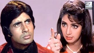 When Sridevi REFUSED To Work With Amitabh Bachc...