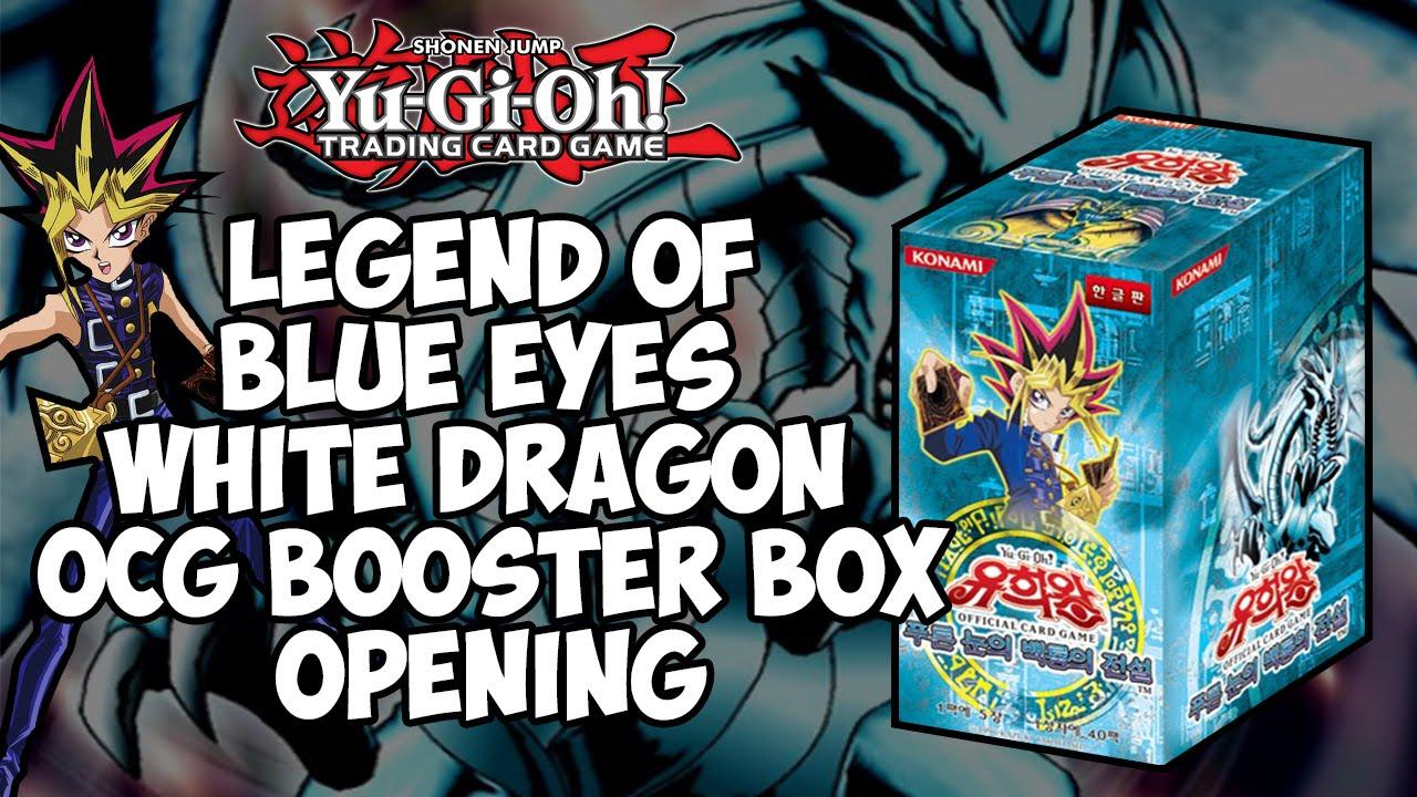 "Yugioh cards /""Legend of Blue Eyes White Dragon/"" Booster Box Korean"