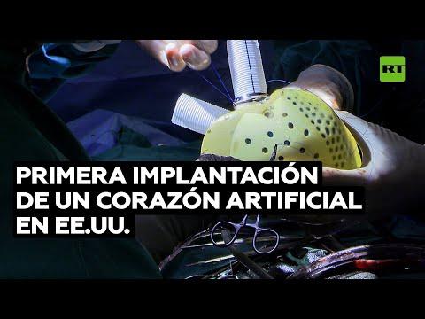 Cirujanos implantan el