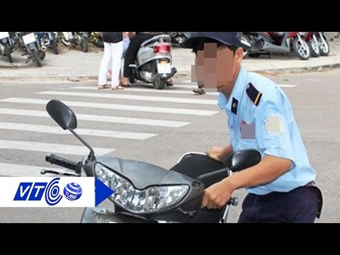 Giả bảo vệ quán cà phê trộm xe của khách