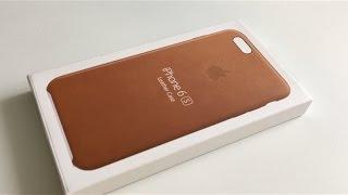 ПОДДЕЛКА: Apple iPhone 6s кожаный кейс
