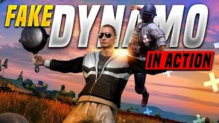 FAKE DYNAMO IS LIVE | DYNAMO TROLLING RANDOMS IN PUBG MOBILE