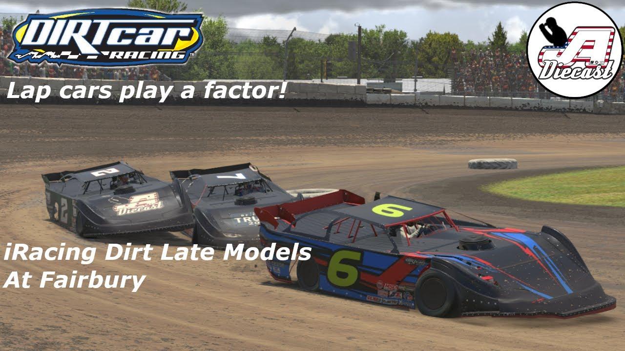 iRacing Dirt Late Models At Fairbury *Lap Cars Do Play A Factor