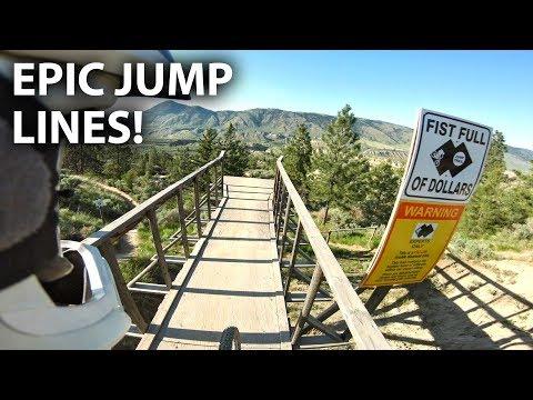 SENDING IT HUGE at the Kamloops Bike Ranch! - Fist Full of Dollars | Jordan Boostmaster