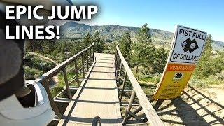 SENDING IT HUGE at the Kamloops Bike Ranch! - Fist Full of Dollars | Jordan Boostmaster