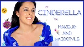 Cinderella makeup and hairstyle tutorial | Silvia Quiros