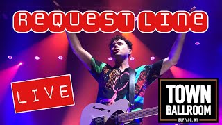 REQUEST LINE - ARKELLS  -live from the Town Ballroom Buffalo, NY
