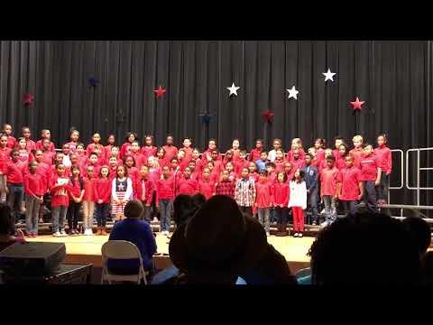 River Bend Elementary School 3rd Grade Veterans Day 2017 Concert