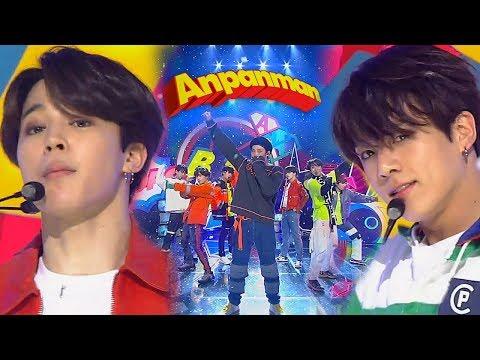 《Comeback Special》 BTS(방탄소년단) - ANPANMAN @인기가요 Inkigayo 20180527