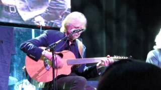 Justin Hayward, Graeme Edge and John Lodge in a tribute to Their 19...