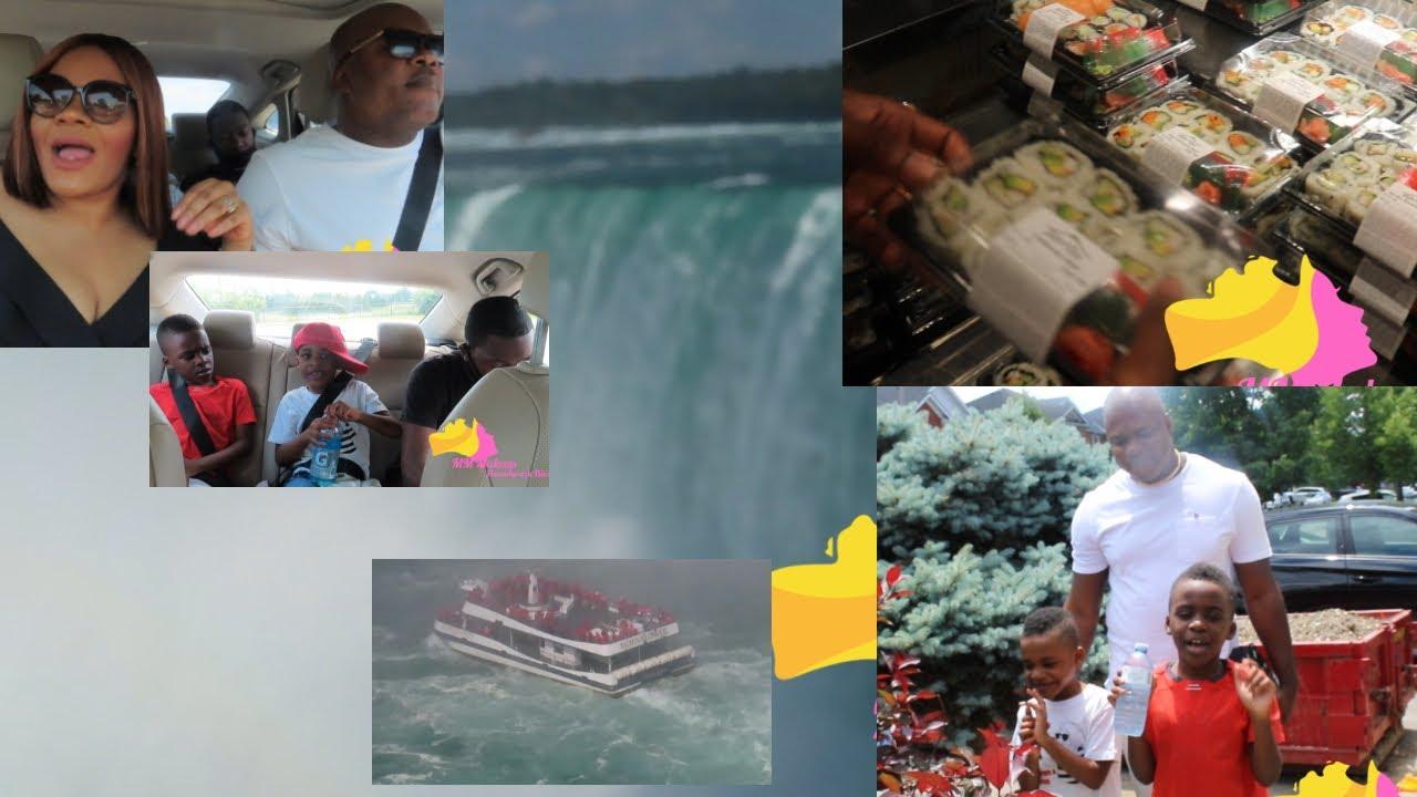 Vlog| visitez avec nous Les Chuttes du Niagara