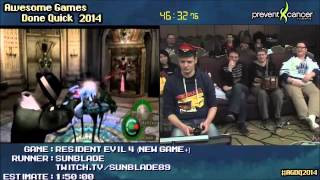 Resident Evil 4 :: SPEED RUN Live (1:37:56) (NG+) by Sunblade #AGDQ 2014