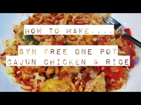 SYN FREE ONE POT CAJUN CHICKEN & RICE - Slimming World Recipes