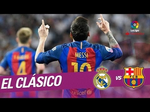 El Clásico - Gol de Messi (2-3) Real Madrid vs FC Barcelona