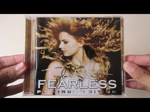 Taylor Swift - Fearless ( Album Platinum Edition CD + DVD ) - Unboxing CD en Español