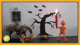 Bánh Halloween bí ngô tí hon - Pumpkin Halloween cake