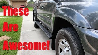 IBoard Running Boards 2012 Toyota Tacoma (Installation Guide)