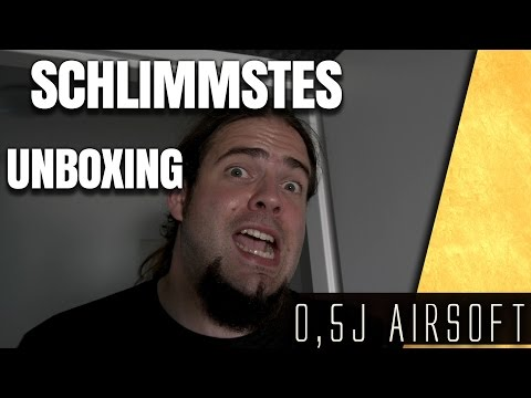 SCHLIMMSTES Airsoft Unboxing G36, 416 & Sniper #28