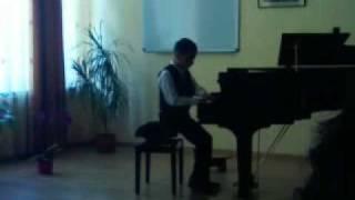 Anusca Andrei - Concurs pian Bacau 2011