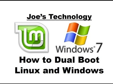 step by step how to dual boot linux mint 15 and windows 7