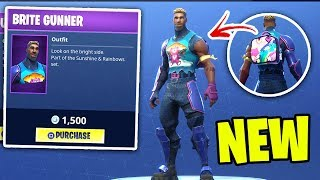 Fortnite ITEM SHOP April 28th 2018! NEW BRITE GUNNER! Featured items + Daily items! Fortnite Funny