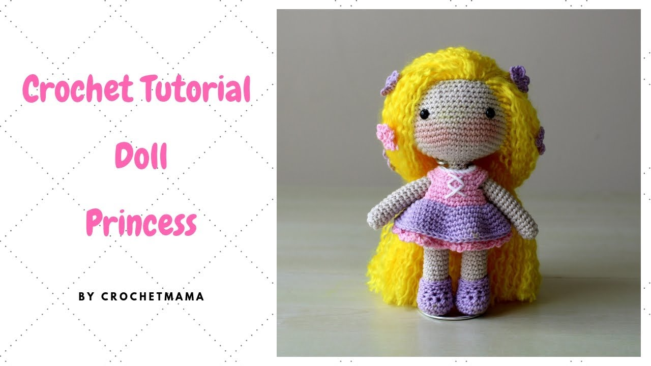 Crochet Amigurumi Doll Tutorial - Sally (Part 1/2) - YouTube | 720x1280