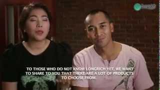 Longrich's Nutri-V & Bone-M changes lives of Celeb couple Jan & Gerard