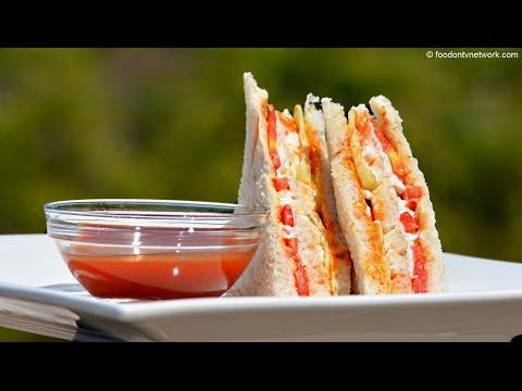 Mayonnaise Veg Sandwich Recipe | Quick Sandwich by Nikunj Vasoya