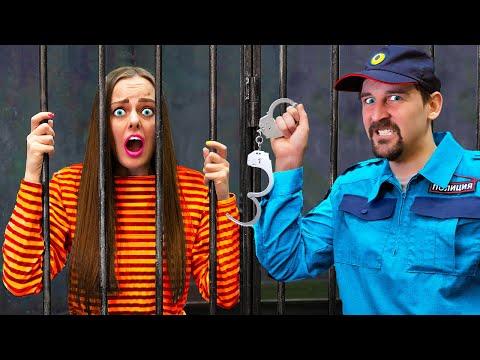 Побег из Тюрьмы ЧЕЛЛЕНДЖ! 24 Часа в Тюрьме