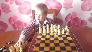 Шахматы для малышей. Учимся расставлять фигуры. Учим названия шахматных фигур Chess for Kids