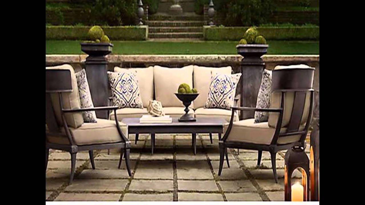 Restoration Hardware Patio Furniture Youtube