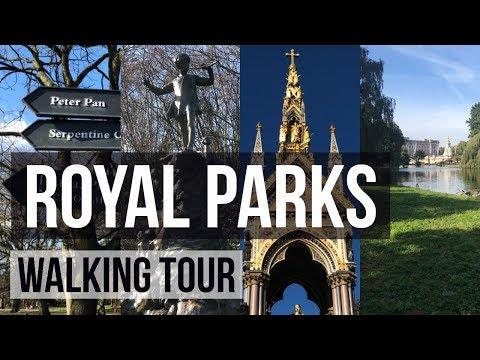 London Walking Tour - Royal Parks