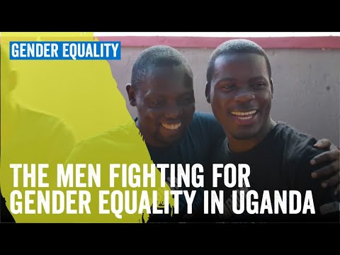 The men fighting for women's rights in Uganda