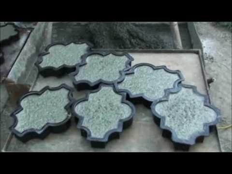 Изготовление тротуарной плитки своими рукамииз YouTube · Длительность: 1 мин13 с