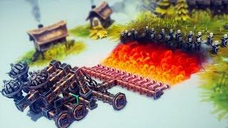 BURN THEM ALL | Besiege #3