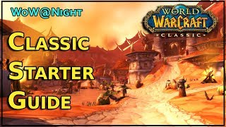 World of Warcraft Classic Starter Guide