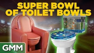 Super Bowl of Toilet Bowls