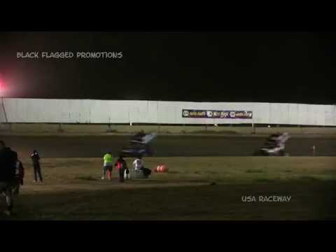 USA Raceway- World Of Outlaws Main March 7th 2015