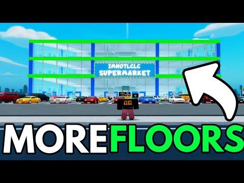 My Supermarket ROBLOX FLOOR 2 & ESCALTOR & BADGE !!!