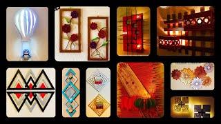 10 Diy Unique Wall Decoration Ideas| Gadac Diy| Home Decorating Ideas