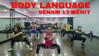 Download lagu Senam body language mengecilkan perut - Senam BL lagu malaysia paling mantul #Fesya sahara