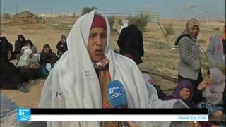 مواجهات في قرية أم الحيران الفلسطينية لمنع عملية الهدم